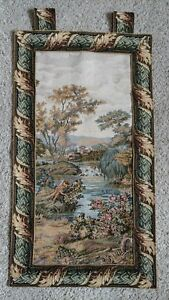 French Tapestry Wall Hanging by CRAYE 78x62 cm