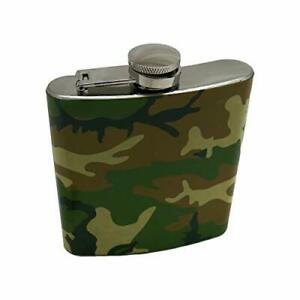 6 oz. Stainless Steel Flask (Camouflage)