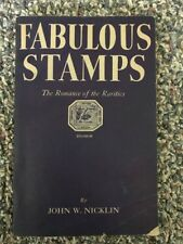 Fabulous Stamps by John W. Nicklin Rare 1947 Paperback