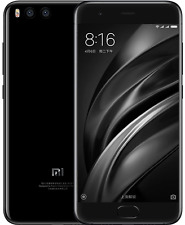 "New Imported Xiaomi Mi 6 Duos 128GB 6GB 5.1"" Dual Rear Cam (12MP+12MP) 8MP Black"