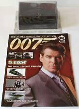 James Bond 007 Diecast Car Collection The World Is Not Enough Q Boat