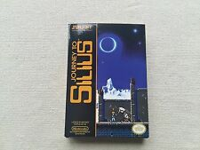 NES Journey To Silius, Custom Art case only, no game included