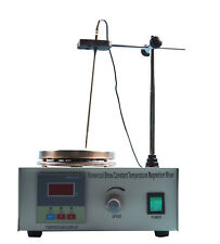 Magnetic Stirrer With Hot Plate Control Lab Supply Digital Heating Mixer 110v