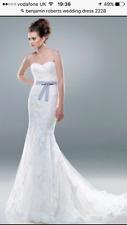 Benjamin Roberts wedding dress size 10-12 Cat. no.2228