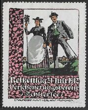 Germany Cinderella stamp: 1912 Beautification Association, Schliersee - cw54.72