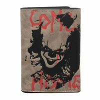 IT Pennywise Clown Tri-Fold Wallet with Chain - Horror Merch