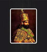 A roots sticker or decal vinyl cut!!! Rastafari lion Haile Selassie reggae