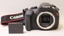 CANON REBEL T5 18.0MP DIGITAL SLR DSLR CAMERA BODY ONLY - 7,892 SHUTTER COUNT