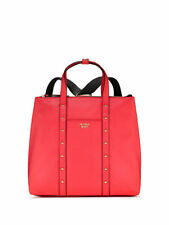 Victoria's Secret Red Studded Convertible Backpack