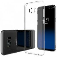 Slim Thin Transparent Gel Silicone Case for Samsung Galaxy S8 & S8 Plus Phones