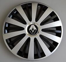 "15"" Renault Master,Modus,Kangoo,etc..Wheel Trims / Covers, Hub Caps,black&silver"