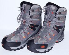 NORTH FACE GRAY/ORANGE TALL SNOW BOOTS GORE-TEX INSULATED US 12