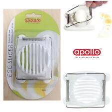 Fine Egg Slicer Stainless Steel Cutter Boiled Eggs Mushroom Easy Slice APOLLO