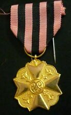 Belgium Civic Decoration Gold 1st Class for 25 years service in Administration