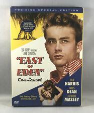 EAST OF EDEN Special Edition 2 Disc DVD Set, James Dean Julie Harris