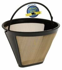 Cuisinart Filter Permanent #4 Cone Coffee Maker Basket Style Strainer Funnel NEW