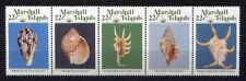 s1905a) MARSHALL ISL. 1987 MNH** Shells 5v [::::]
