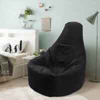 1X Arm Chair Adult Beanbag Cover Outdoor Garden Gamer Large Bean Bag Portable AG