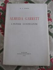 1966 Almeida Garett l'intime contrainte écrivain romantique portugais Lawton