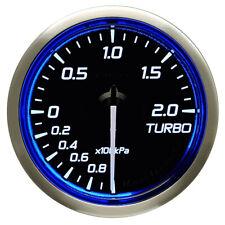 DEFI 52MM RACER TURBO 2 BAR GAUGE N2 BLUE