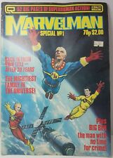 MARVELMAN Special No1 1984 Classic Comic Rare