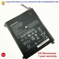 Genuine NB116 31.92Wh Battery for Lenovo IdeaPad 100S 100S-11IBY 80R2 5B10K37675