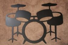 DRUM SET Wall Metal Art by HGWM