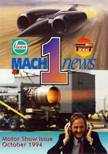 Richard Noble / Andy Green Thrust SSC Land Speed Record 2nd Issue of Mach 1 News