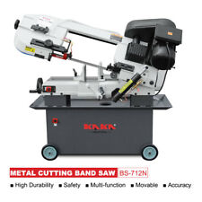 KAKA BS-712N, 7x12-In Metal Cutting Bandsaw, Solid Construction Metal Band saw