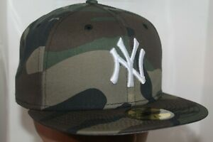 New York Yankees MLB New Era Basic Camo 59Fifty,Fitted,Cap,Hat       $ 38.99 NEW
