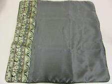 """Jcpenney Home Collection 26"""" x 26"""" Euro Pillow Sham Black/Green"""