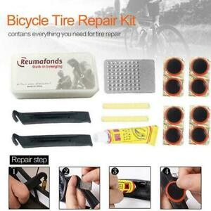 Portable Bicycle Bike Tire Repair Kits Tools Patch Equipment 2019 Rubber W9Q3