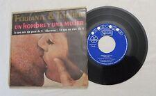 45 RPM EP, Ferrante & Teicher, Un Hombre y Una Mujer (Man & Woman) VG++, NICE PS