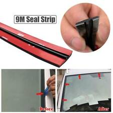 For Car Windshield Window Roof 9M 30ft Black Rubber Seal Edge Trim Weatherstrip
