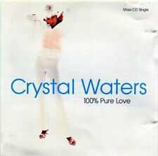 Crystal Waters - 100% Pure Love CD ** Free Shipping**