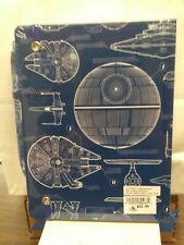 Disney Parks Star Wars Blueprint Journal with Pen Brand New in Sealed Package