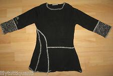 IKKS - Robe en lainage noire et grise, 20% laine - Taille 3 ans - TBE !!!
