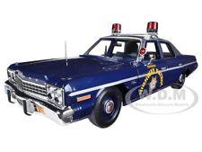 1975 DODGE MONACO PURSUIT NEVADA STATE POLICE HIGHWAY PATROL 1/18 AUTOWORLD