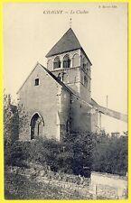 cpa 71 - CHAGNY (Saône et Loire) Le CLOCHER Edition P. MORERE Vue RARE