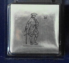 Prince August Tin Toy Soldier Lead with sword mold number 30 in the series