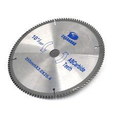 """10"""" Inch Aluminum Cutting 120Teeth Saw Blade Circular Saw Blade Wood Cutting"""