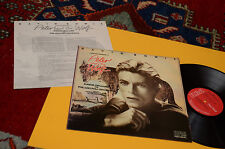 DAVID BOWIE LP PETER AND WOLF ORIG UK 1978 EX+ UNPLAYED TOTAL LAMINATED COVER !
