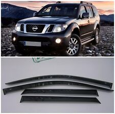 For Nissan Pathfinder R51 2005-2014 Window Visors Sun Rain Guard Vent Deflectors