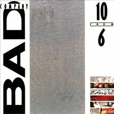 10 from 6 by Bad Company CD-1986 Atlantic Near Mint Free S/H