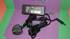 DELL AC ADAPTER 19.5V 4.62A 90W LA90PM111 YD9W8 WITH POWER CABLE  #5