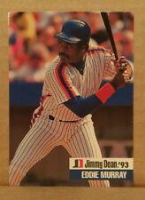 ODDBALL RARE 1993 Jimmy Dean #17 EDDIE MURRAY New York Mets - 9.5+ NM+ MLB MLBPA