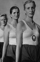 WW2 Picture Photo Member Young women Bund Deutscher Mädel League German BDM 907