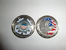 CHALLENGE COIN USCG US COAST GUARD GOT FREEDOM UNITED STATES REAL NICE COIN