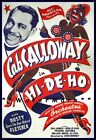 Cab Calloway Hi De Ho 1947 Film Movie Vintage Poster Print Art Musical Movie