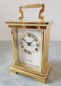 RHYTHM Quartz Carriage Clock 4RG401 Japan